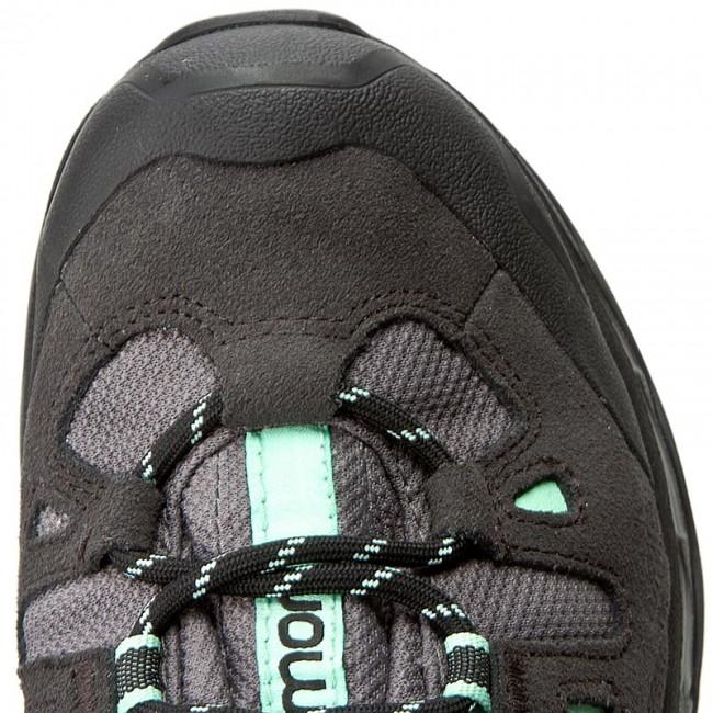 Trekker Boots SALOMON Quest Prime Gtx W GORE TEX 380889 22 V0 DetroidAsphaltLucite Green
