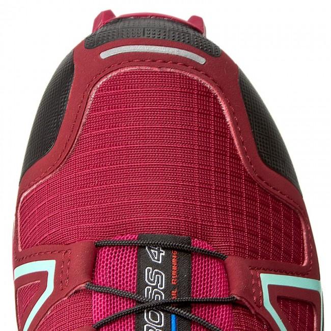 Shoes SALOMON Speedcross 4 W 393439 Tibetan RedSangriaBlack