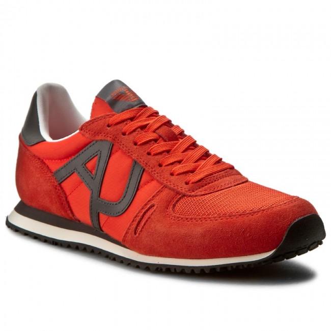 31583dac2c83b Sneakers ARMANI JEANS - 935027 7P420 02465 Orange 1664 - Sneakers ...