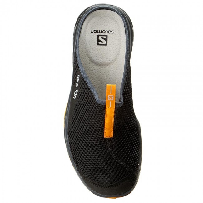 Salomon RX Slide Herren Clogs BlackBright Marigold | Fun