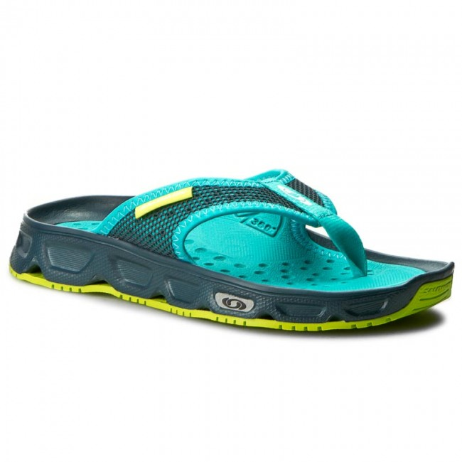 bb1bedf043e2 Slides SALOMON - Rx Break W 392496 20 M0 Reflecting Pond Deep Peacock Blue