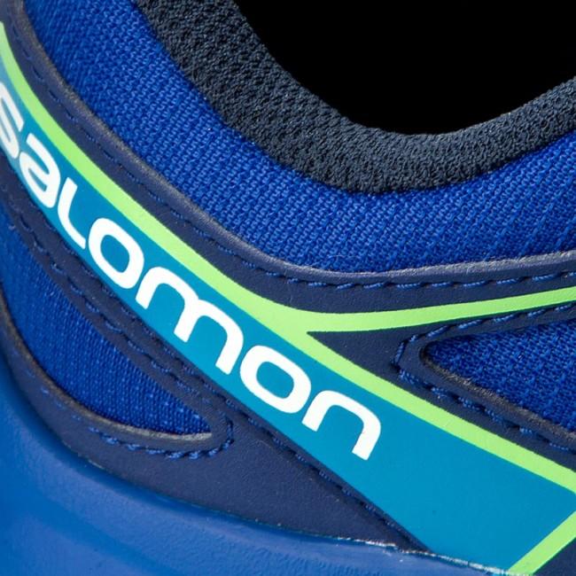 Trekker Boots SALOMON - Speedcross J 392384 09 M0 Surf The  Web Cloisonne Green 5ed8f425347