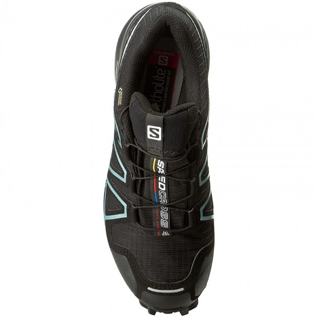 Schuhe SALOMON Speedcross 4 Gtx W GORE TEX 383187 20 G0 BlackBlack
