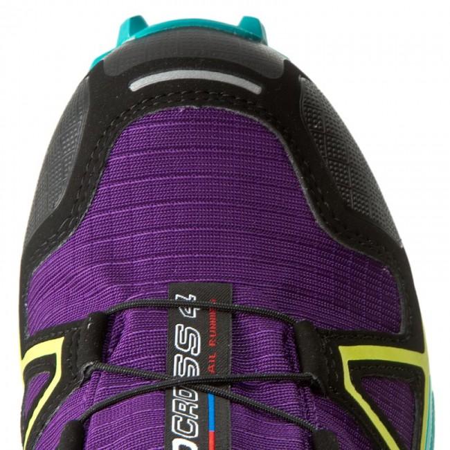 Shoes SALOMON Speedcross 4 Gtx W GORE TEX 392405 20 G0 AcaiDeep Peacock BlueSulphur Spring
