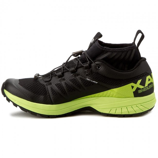 G0 SALOMON 27 Xa BlackLime Enduro GreenBlack Shoes 392407 WDE2IH9