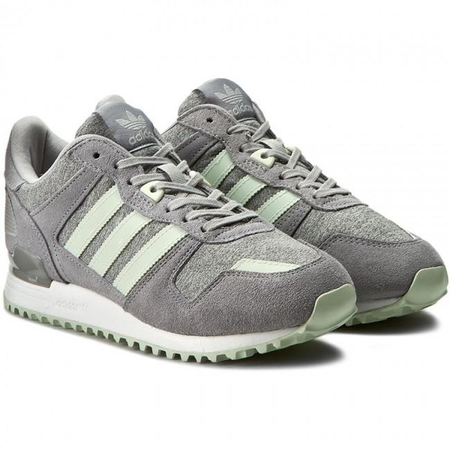 buty temperamentu klasyczny styl niższa cena z Shoes adidas - Zx 700 W BA9978 Mgreyh/Lingrn/Grey