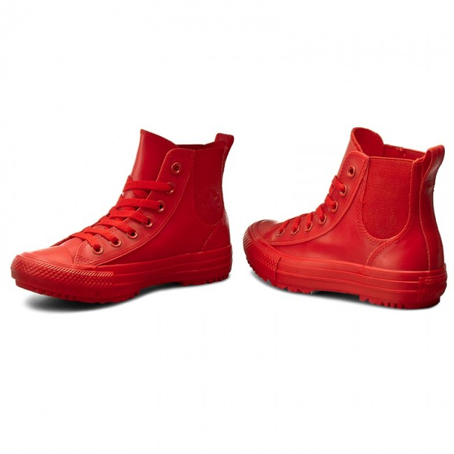 c0bd0ee1d190d Sneakers CONVERSE - Ctas Chelsea Boot Rubber Hi 553265C Signal Red/Signal  Red