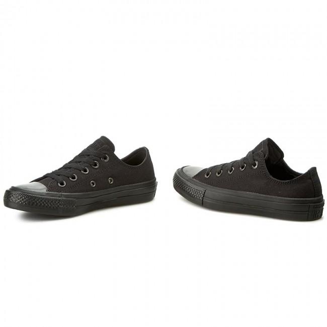 converse ii black. sneakers converse - ctas ii ox 151223c black/black converse ii black