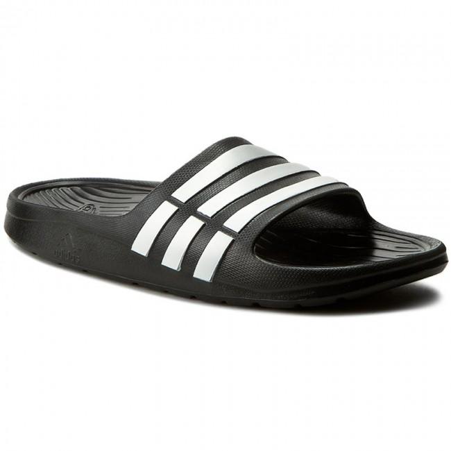 f7451b4cc046d5 Slides adidas - Duramo Slide K G06799 Black1 Runwht Black1 - Casual ...