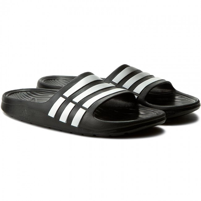 cac4d3073f4bed Slides adidas - Duramo Slide K G06799 Black1 Runwht Black1 - Casual mules -  Mules - Mules and sandals - Women s shoes - www.efootwear.eu