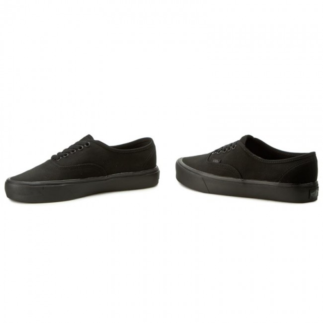 Plimsolls VANS - Authentic Lite VN0A2Z5J186 Black Black - Sneakers ... 431f688c408