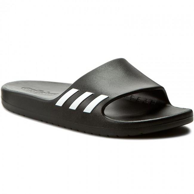 06a5e2e3c91b Slides adidas - Aqualette W BA8762 Cblack Ftwwht Cblack - Casual ...