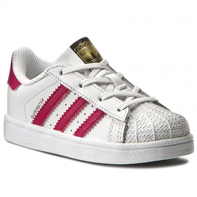 Shoes adidas - Superstar I BB9077 Ftwwht/Bopink/Ftwwht