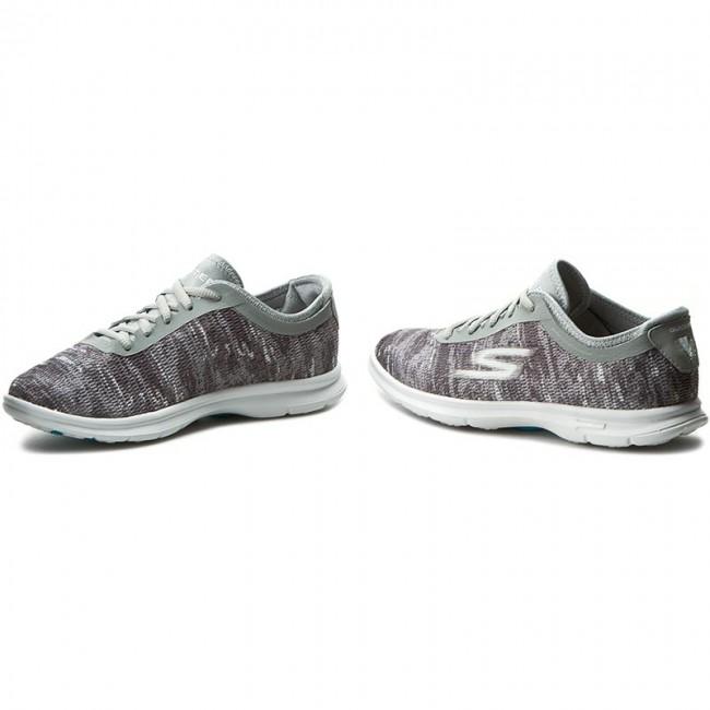 4998b1b60402 Shoes SKECHERS - Go Step 14200 GYW Gray White - Fitness - Sports ...