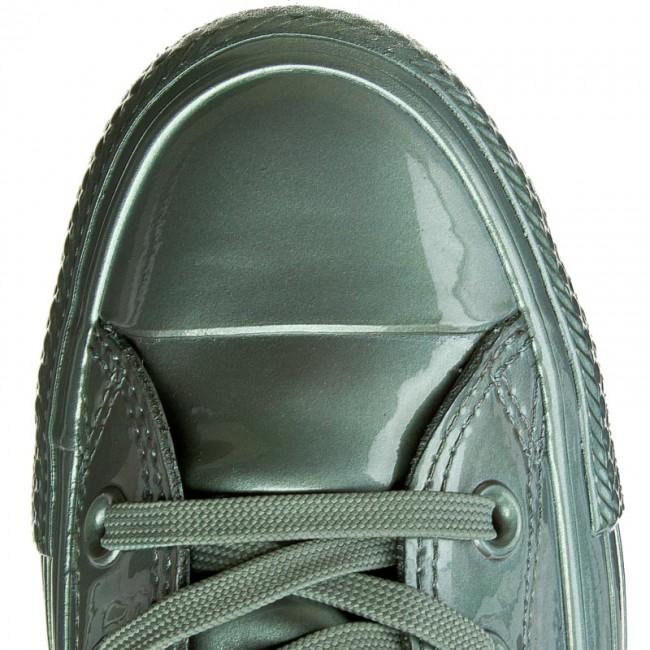 152ae55f96cb Sneakers CONVERSE - Ctas Metallic Rubber Hi 553268C Metallic Glacier Glacier  - Sneakers - Low shoes - Women s shoes - www.efootwear.eu
