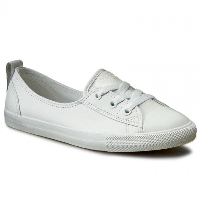 91deeded376eb5 Sneakers CONVERSE - Ctas Ballet Lace leather Slip 553376C Converse White  White White