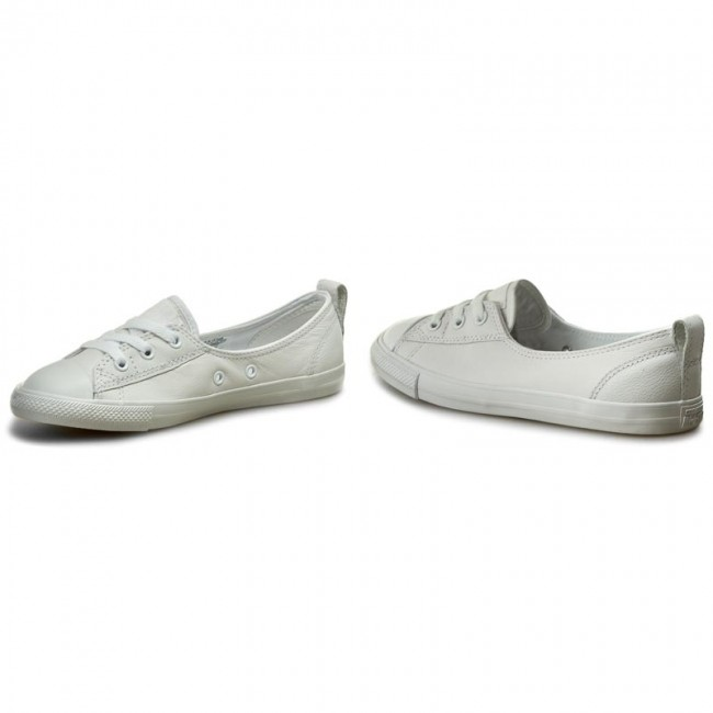 b50f6777805ddb Sneakers CONVERSE - Ctas Ballet Lace leather Slip 553376C Converse White  White White