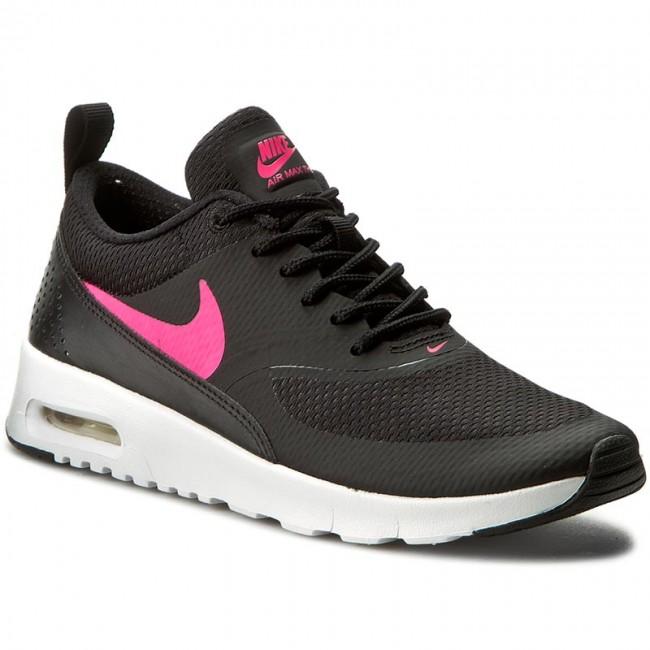 finest selection cb6ec 98e26 ... coupon shoes nike air max thea gs 814444 001 black hyper pink 6b90c  f816b