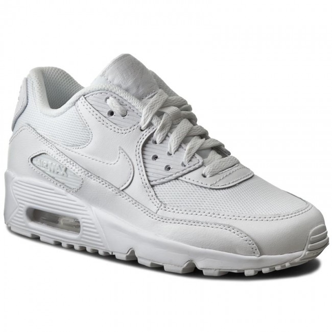 hot sale online 00d0e f0e11 Shoes NIKE - Air Max 90 Mesh (GS) 833418 100 WhiteWhite