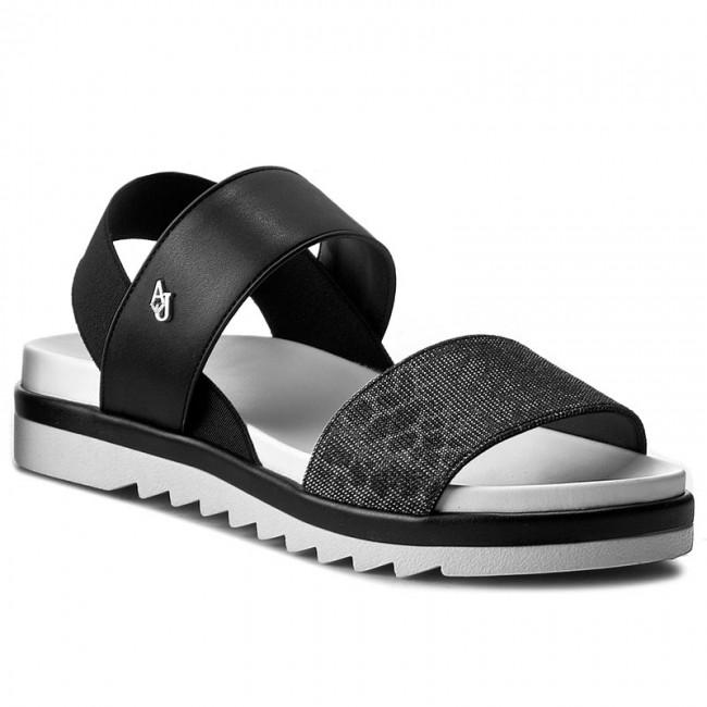 f6a6a6048420 Sandals ARMANI JEANS - 925133 7P532 00020 Nero - Casual sandals ...