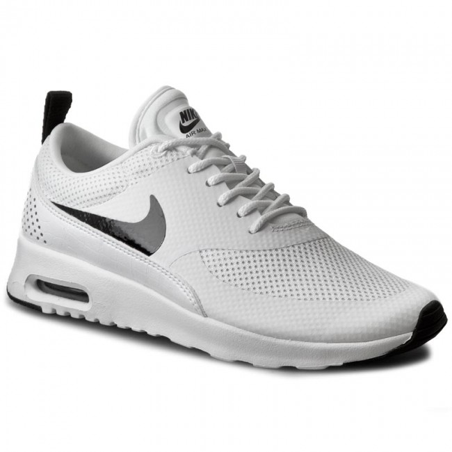 5fc3c1b637d637 Shoes NIKE - Air Max Thea 599409 103 White Black - Sneakers - Low ...