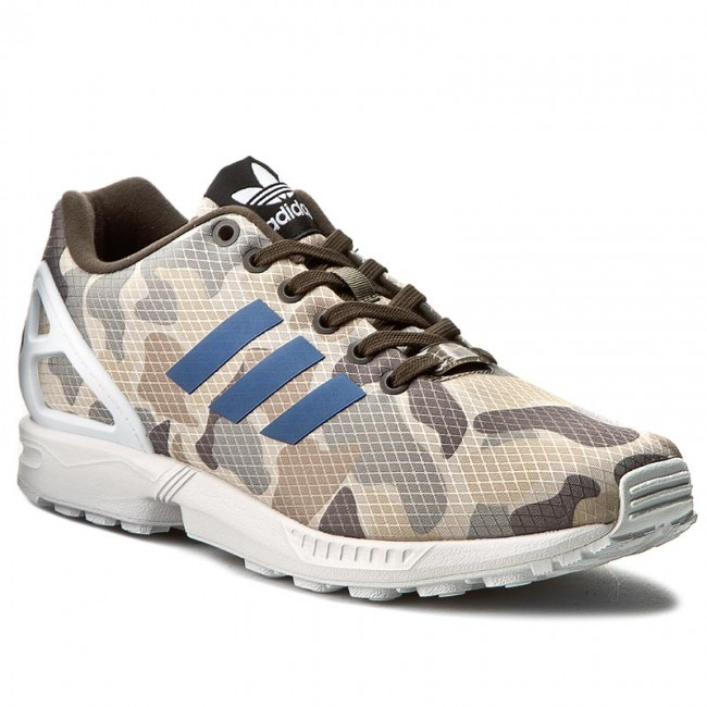 27a9c8051 ... promo code shoes adidas zx flux bb2174 umber blue ftwwht a3b0e c2756
