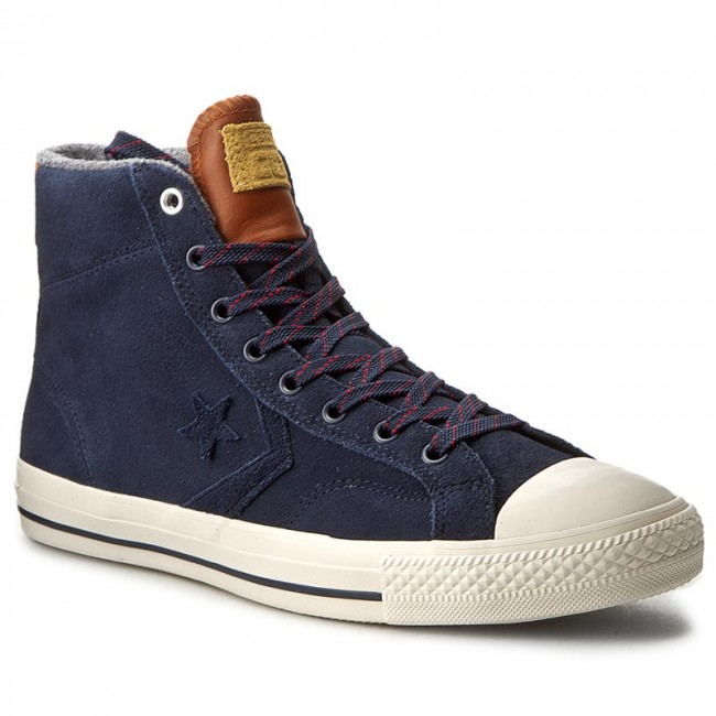 converse star player hi suede