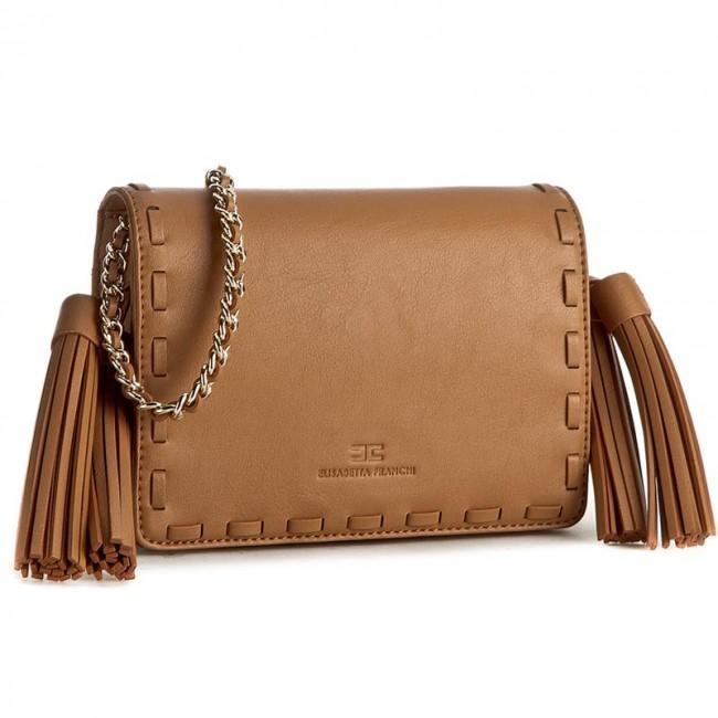 ebb10e125aef Handbag ELISABETTA FRANCHI - BS-398-8738-V182 Tabacco 170 - Clutch ...