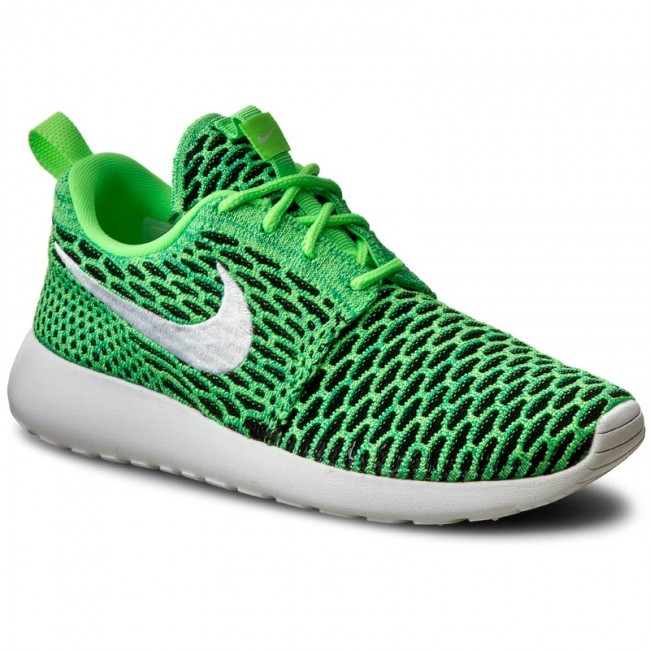 f788653de7efb Shoes NIKE - Roshe One Flyknit 704927 305 Voltage Green White Lcd ...