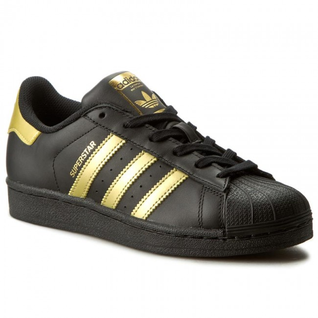 dfe668e03f Shoes adidas - Superstar J BB2871 Cblack/Goldmt/Goldmt - Sneakers ...