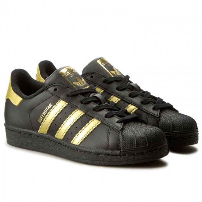 official photos 72ced a8923 ... zalando c9406 70a34 discount code for shoes adidas superstar j bb2871  cblack goldmt goldmt sneakers low shoes womens shoes ...