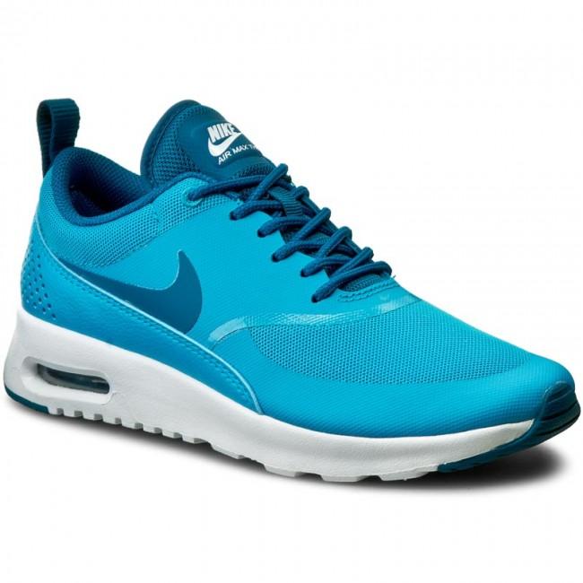 6b6c80a7d2 Shoes NIKE - Air Max Thea 599409 411 Blue Lagoon/Green Abyss/White ...