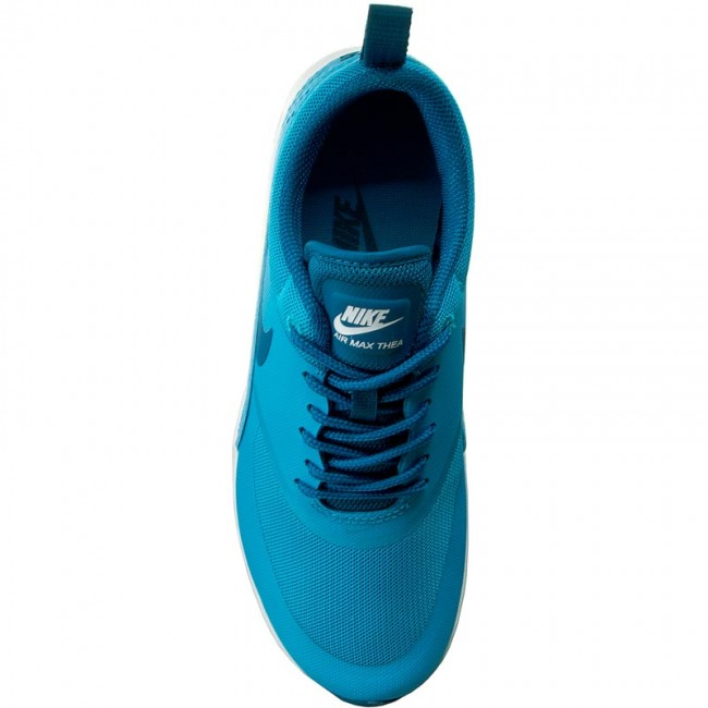 806f5bea65 Shoes NIKE - Air Max Thea 599409 411 Blue Lagoon/Green Abyss/White -  Sneakers - Low shoes - Women's shoes - www.efootwear.eu