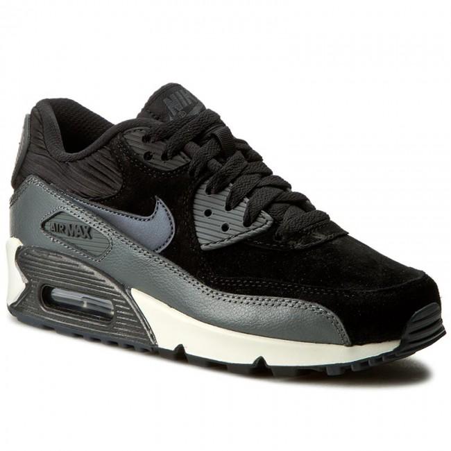 ce40e6c383 Shoes NIKE - Wmns Air Max 90 Lthr 768887 001 Black/Mtlc Hematite/Drk ...