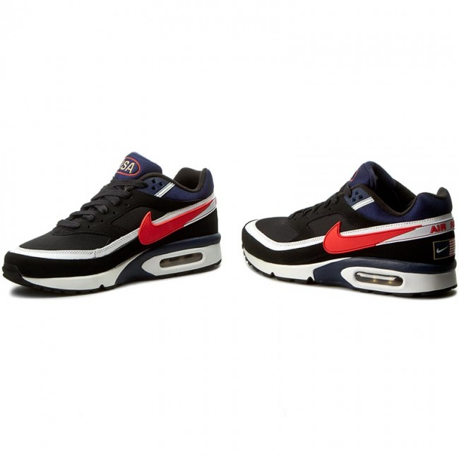 best sneakers 130c7 e2ce8 Shoes NIKE - Air Max Bw Premium 819523 064 Black Crimson Midnight Navy