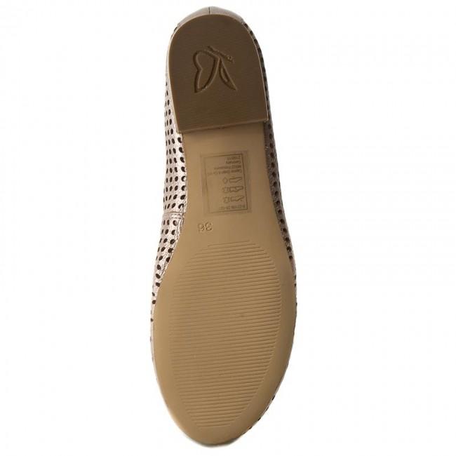 Flats CAPRICE - 9-22109-28 Rose Metallic 521 - Ballerina shoes - Low shoes  - Women s shoes - www.efootwear.eu b96e9fe5ad
