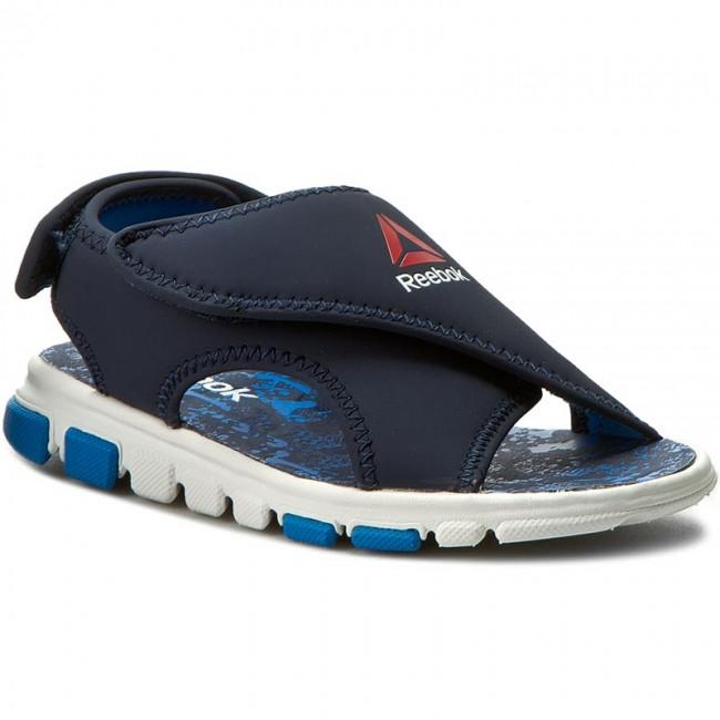 31219f354815 Sandals Reebok - Wave Glider II BD4259 Collegiate Navy Horiz Blu ...