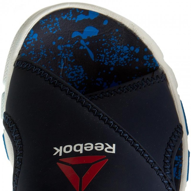 30dd33161fe1 Sandals Reebok - Wave Glider II BD4259 Collegiate Navy Horiz Blu - Sandals  - Clogs and sandals - Girl - Kids  shoes - www.efootwear.eu