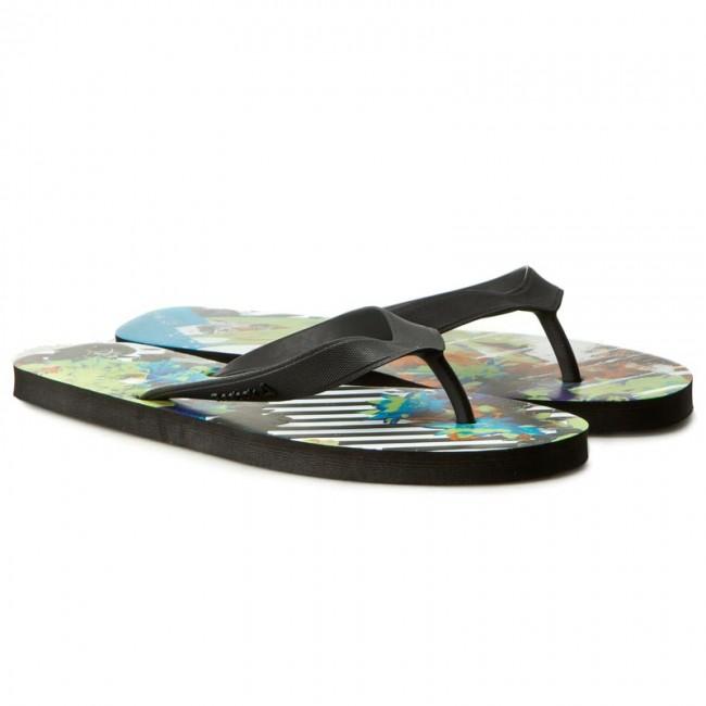 c78e133181cb4 Slides Reebok - Cash Flip BD5211 Blk Grn Teal Wht - Flip-flops - Mules and  sandals - Men s shoes - www.efootwear.eu