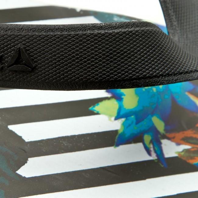 a6712e51d5f0f Slides Reebok - Cash Flip BD5211 Blk Grn Teal Wht - Flip-flops ...
