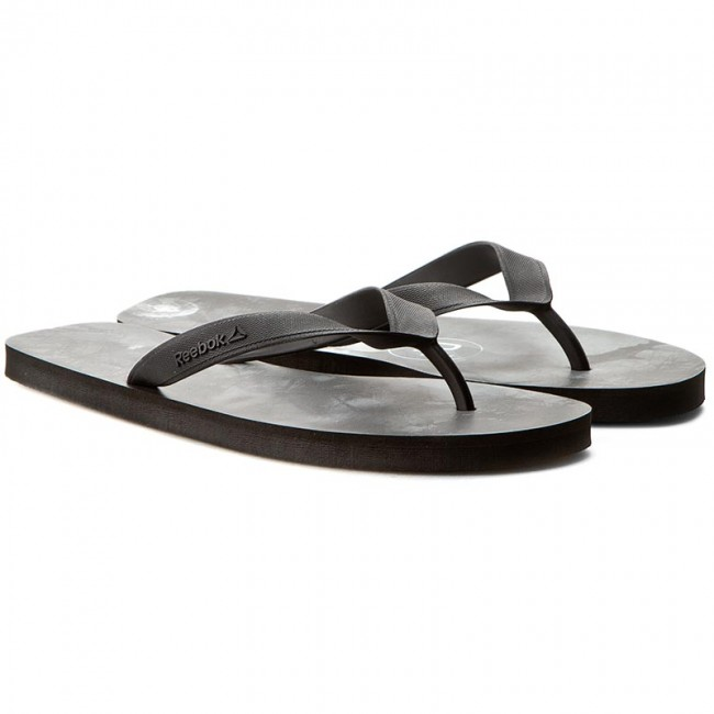 fe2a032ea138 Slides Reebok - Cash Flip BD5218 Black White - Flip-flops - Mules and  sandals - Men s shoes - www.efootwear.eu
