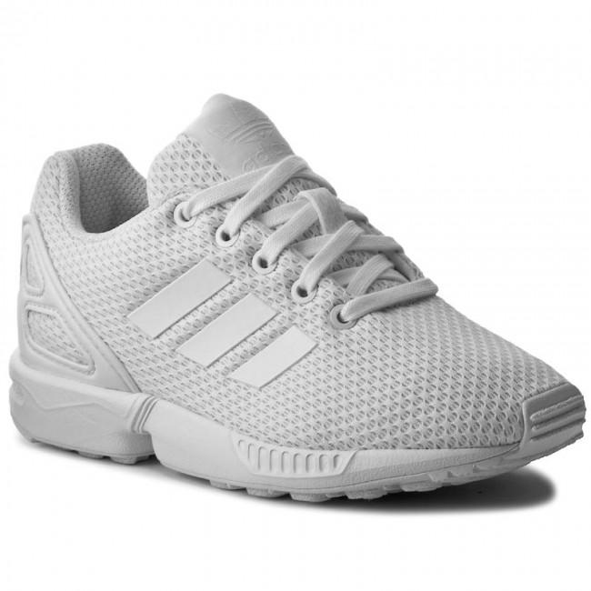3e9dee71709dc4 Shoes adidas - Zx Flux C S76296 Ftwwht Ftwwht Ftwwth - Laced shoes ...