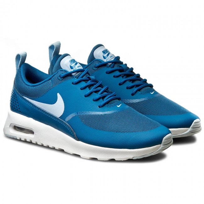 e772bafc21 Shoes NIKE - Air Max Thea 599409 410 Brigade Blue/Porpoise/White - Sneakers  - Low shoes - Women's shoes - www.efootwear.eu