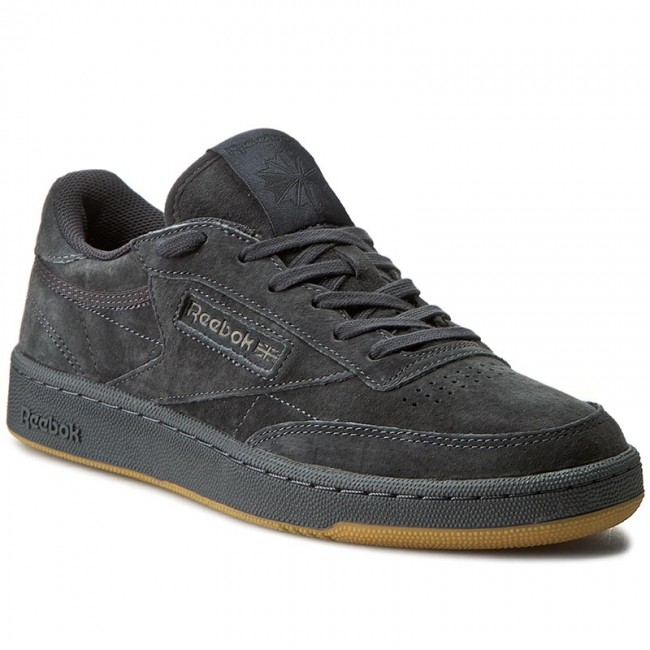 f5faaa3ba6b5 Shoes Reebok - Club C 85 Tg BD1885 Lead Black - Sneakers - Low shoes ...