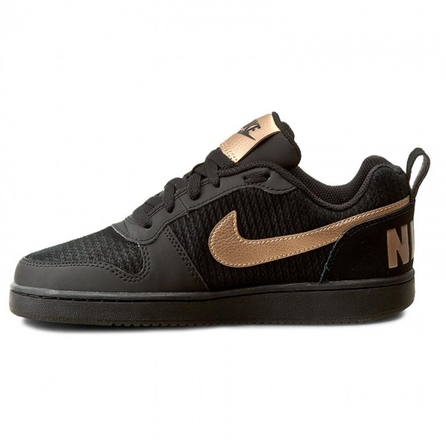 pretty nice 0ccae 2152c Shoes NIKE - Court Borough Low Prem 861533 002 BlackMtlc Red Bronze -  Sneakers - Low shoes - Womens shoes - www.efootwear.eu