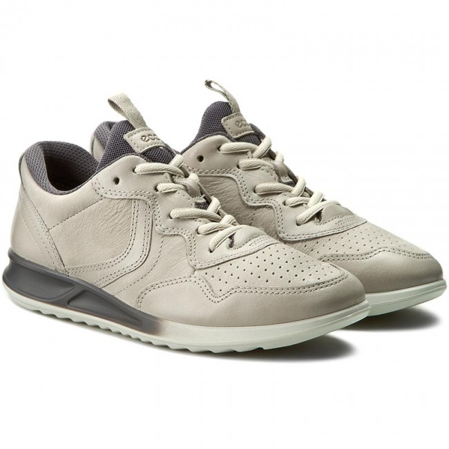 e8f4ccbc5b0 Sneakers ECCO - Genna 28354350341 Gravel Gravel Titanium - Sneakers - Low  shoes - Women s shoes - www.efootwear.eu