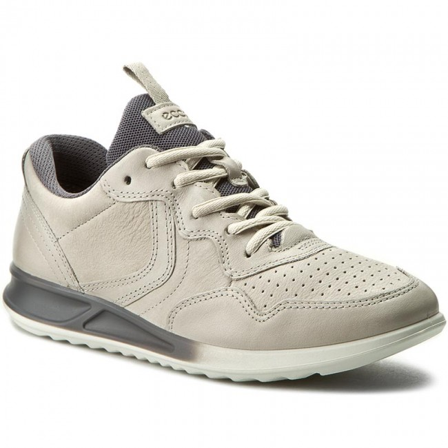 24a329db6fb Sneakers ECCO - Genna 28354350341 Gravel Gravel Titanium - Sneakers ...