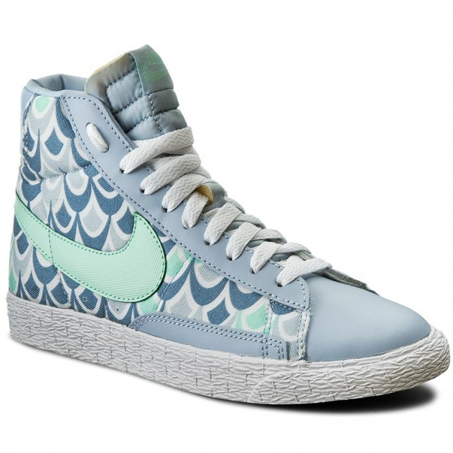 sneakers for cheap 4a8af b3959 Shoes NIKE - Blazer Mid Vintage (Gs) 539930 401 Lt Armory Blue Arct ...