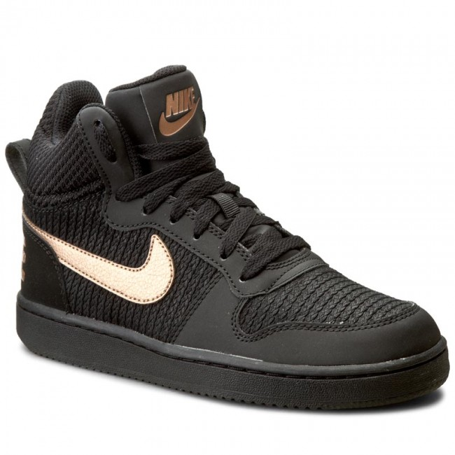 purchase cheap 67621 44256 Shoes NIKE - W Nike Court Borough Mid Prem 844907 002 Black Mtlc Red ...