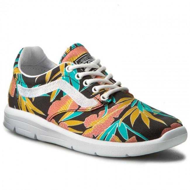 Sneakers Vans Iso 15 Vn0a2z5sn71 Tropical Leaves Black